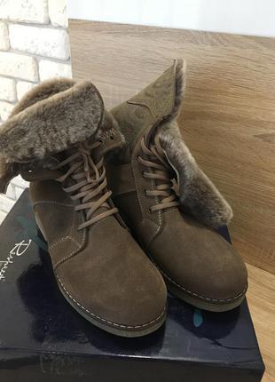 Ботинки зимние 40 р.