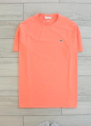 Оригинальная мужская футболка lacoste xxxl