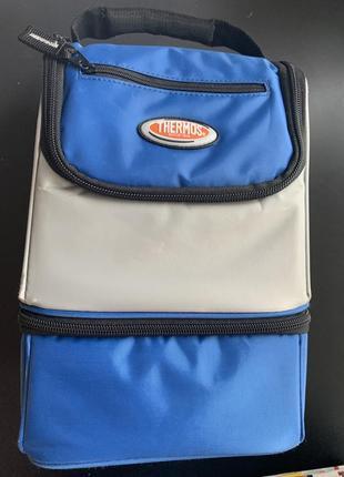 Термосумка thermos 6 л сумка-холодильник и ланч бокс, сумка для обедов