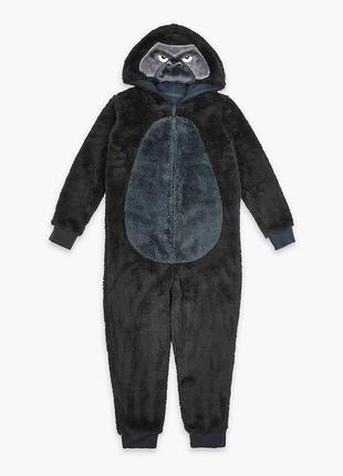 Слип пижама махра marks & spencer горилла 9-10 лет р.140