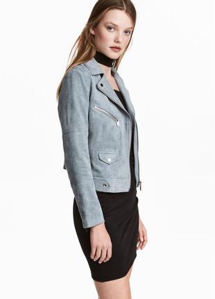 Байкерская курточка, 42р (xl), полиэстер 100%