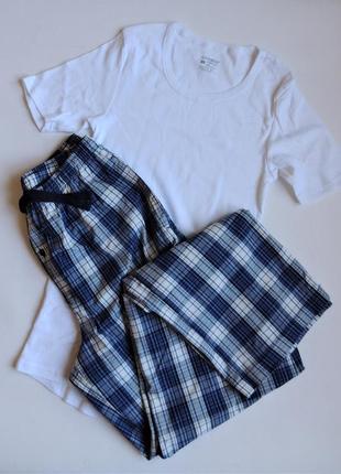 Комплект livergy домашний,пижама,брюки и футболка