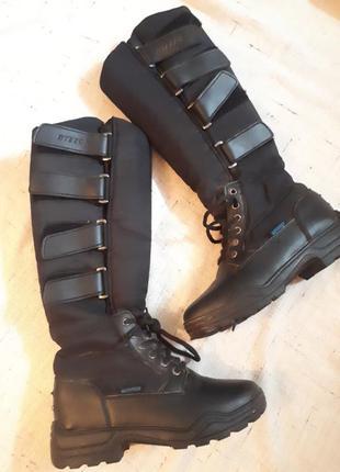 Мото боты ботинки steeds байк мотокросс  водонепроницаемые экипировка / распродажа