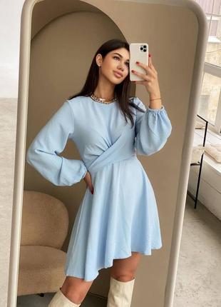 Красива сукня на весну у трьох кольорах