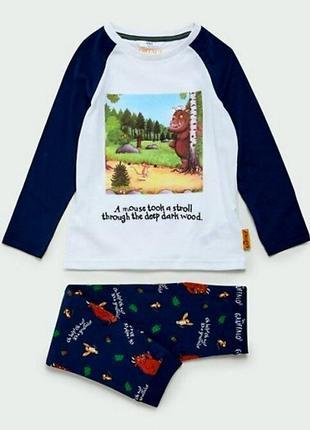 Шикарная пижамка от marks&spencer для мальчиков на 3-4 года из англии