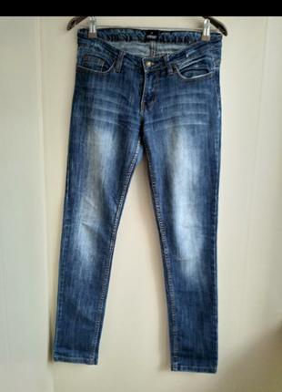Классные джинсы зауженные к низу
