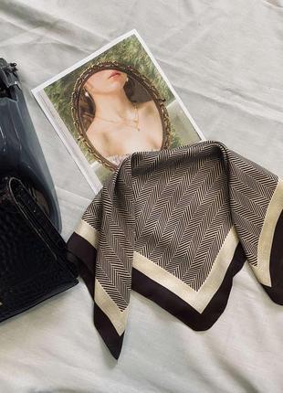 Шелковый платок esprit 53х51