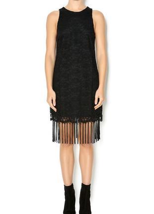 """Черное платье для коктейля с американской проймой в стиле """"гэтсби"""" s, сша"""