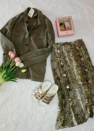 Три вещи юбка пиддак курика милитари рубашка