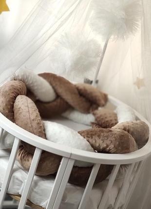Косичка минки в кроватку