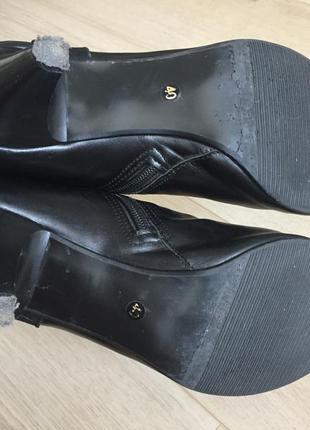 Демисезонные ботинки на каблуке2