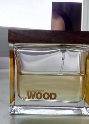 Dsquared2 she wood golden light wood оригинал