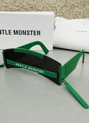 Gentle monster odyssey экставагантные стильные женские солнцезащитные очки зеленые
