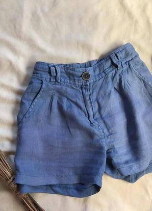 Pepe jeans шорты лен , льняные шорты