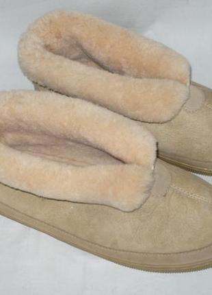 100% australian sheepskin мужские уги полусапожки тапки натуральная овчина чоловічі тапки