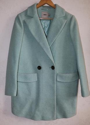 Asos шерстяное пальто