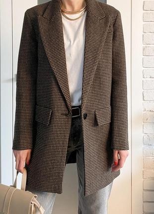 Коротке пальто-жакет zara. розмір l/xl. нове, з цінником.