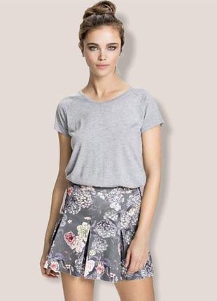 Платье а-ля футболка + плиссированная юбка 2в1