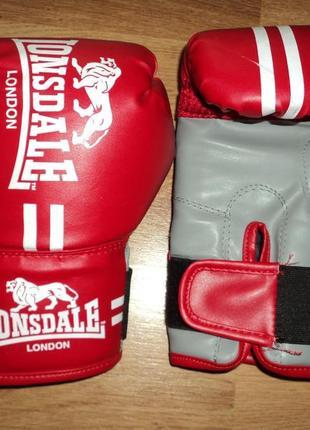 Боксерские перчатки для бокса lonsdale london junior