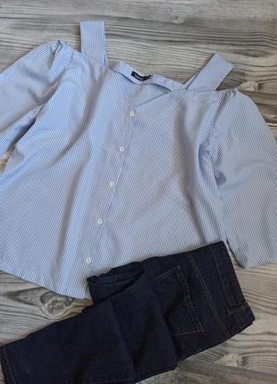 ❤️ блузка с шикарным вырезом от boohoo батал