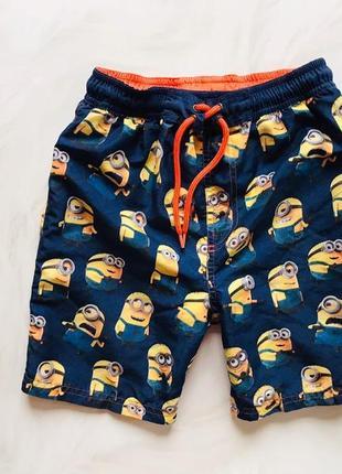 Next стильные шорты-плавки  на мальчика  4 года