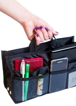 Органайзер для сумки organize черный