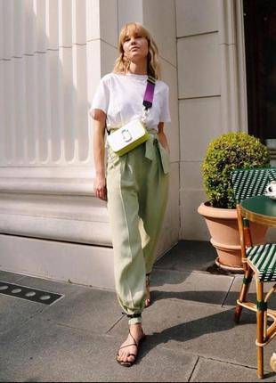 Стильні штани mtwtfss weekday ritz брюки слоучи