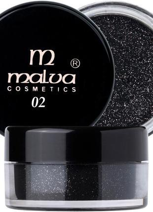 Пигмент malva 02 (рассыпчатые тени, блестки)