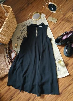 Классное платье чокер