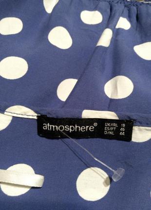 Натуральное,воздушное платье в горох-клёш,с карманами,поясом,большого размера,батал5 фото