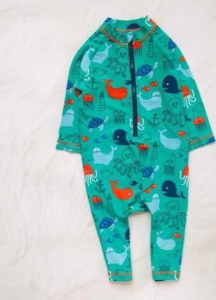 M&s классный купальный костюм на мальчика 2-3 года