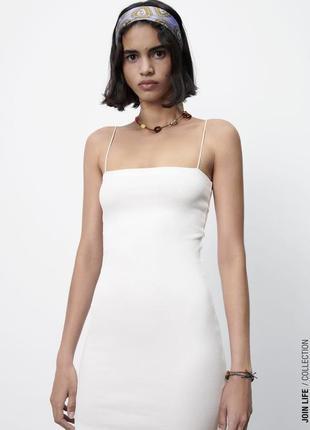 Сукня в рубчик zara