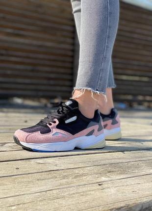 Adidas falcon🍏 стильные женские кроссовки адидас