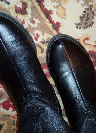 Сапоги итальянские кожаные