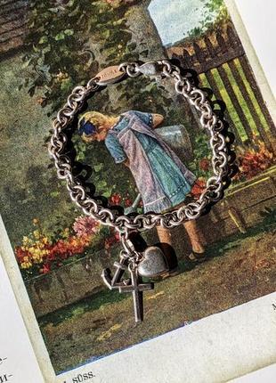 Серебряный браслет для девочки esprit серебро для ребёнка детский