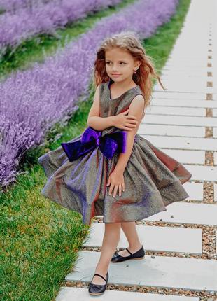 Нарядное пышное платье для девочки мини на выпускной алиса