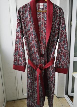 Лёгкий мужской халат st michael, размер м