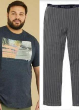 Домашний костюм фуболка и штаны kiaby 3xl
