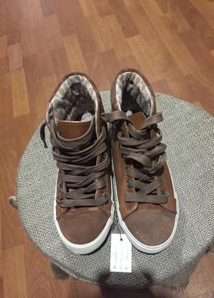 Высокие кеды кроссовки next (13)