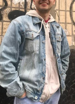 Джинсовка деним куртка