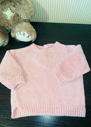 Дуже м'який і теплий рожевий светр кофта