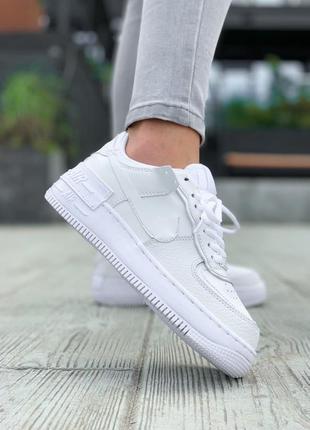 Nike air force 🍏 стильные женские кроссовки найк форс