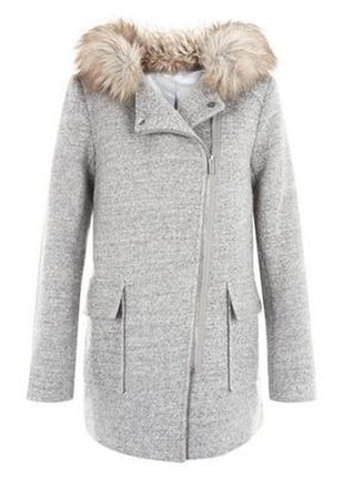 Пальто косуха new look