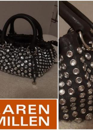 Стильная сумка-кисет karen  millen.