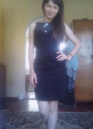 Короткое вечернее платье маленькое черное платье коктейльное платье