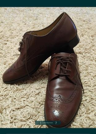 Туфли мужские кожа bally оригинал 100%