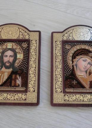 Иконы пара мария и иисус икона
