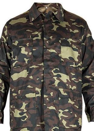 Камуфляжная куртка «дубок»