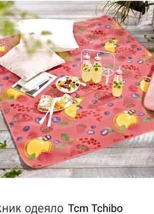 Коврик для пикника с ярким фруктовым принтом от tcm tchibo, германия!