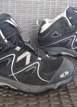 Ботинки salomon waterproof